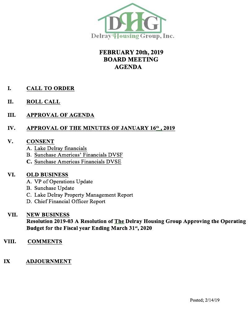 DHG-Agenda-February20t-2019
